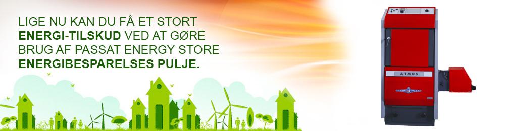 atmos lige nu kan du få et stort energi-tilskud ved at gøre brug af passat energy store energibesparelses pulje