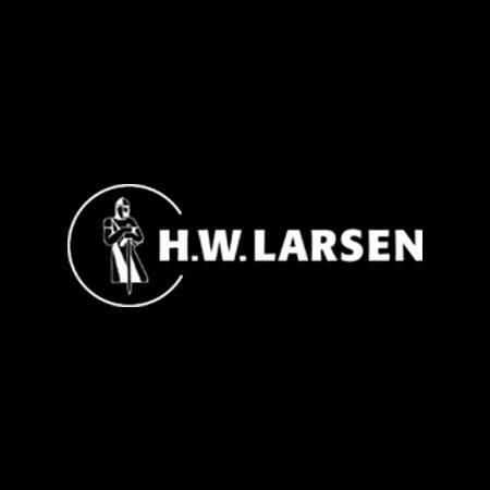 h w larsen logo