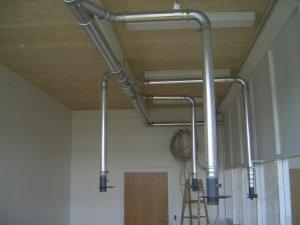 Industri og proces ventilation giver et godt arbejdsmiljø