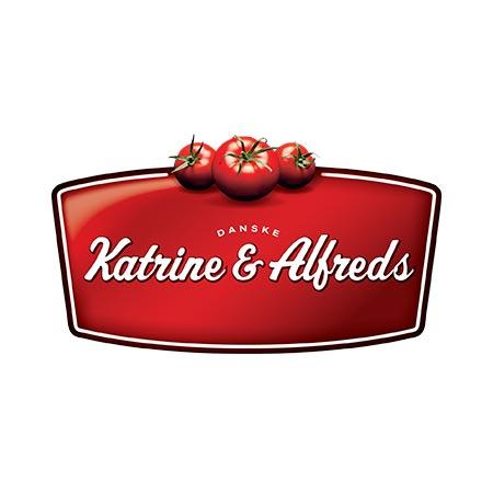 katrine og alfreds danske tomater logo