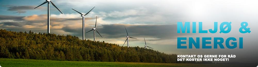 miljø og energi vindmøller