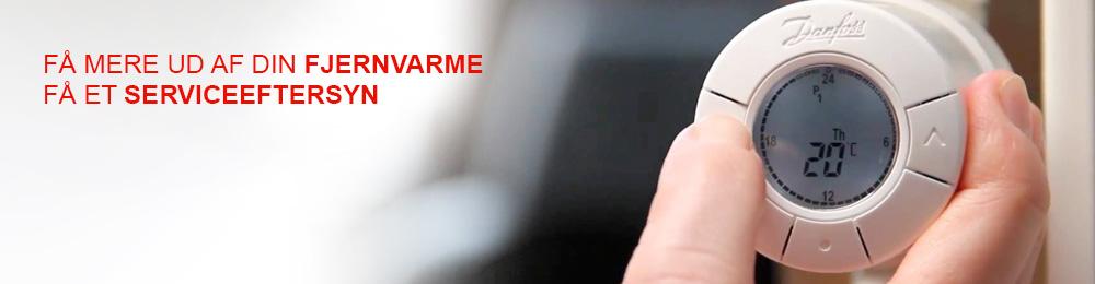dansk vvs og klima varme anlæg termostat få mere ud af din fjernvarme få et service eftersyn