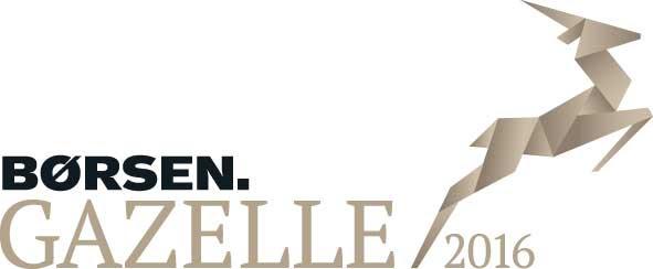 børsen gazelle prisen 2016 logo