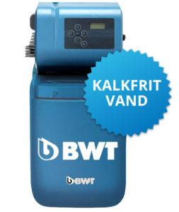 BWT blødgøringsanlæg kalkfrit vand