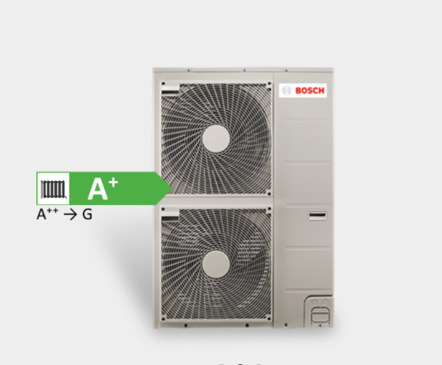 Bosch Compress 3000 varmepumpe udedel