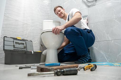 Lydløst toilet